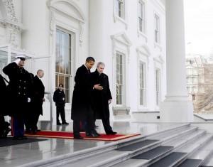President Obama and President Bush