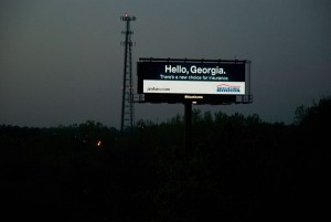 HD LCD Billboard Advertising Copy
