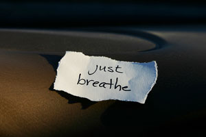 Just Breathe - Blogging Success - Stage Fright - Stress