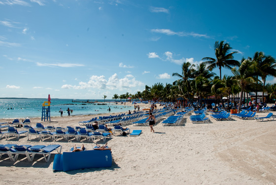 Coco Cay Private Beach