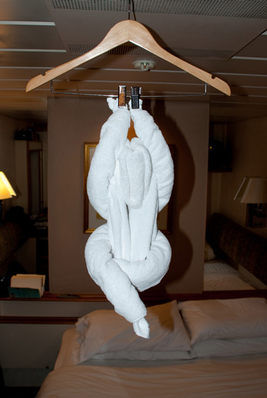 Towel Monkey Hanging Out