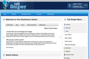 Twit Sniper 2.0 - How to gain Twitter Followers