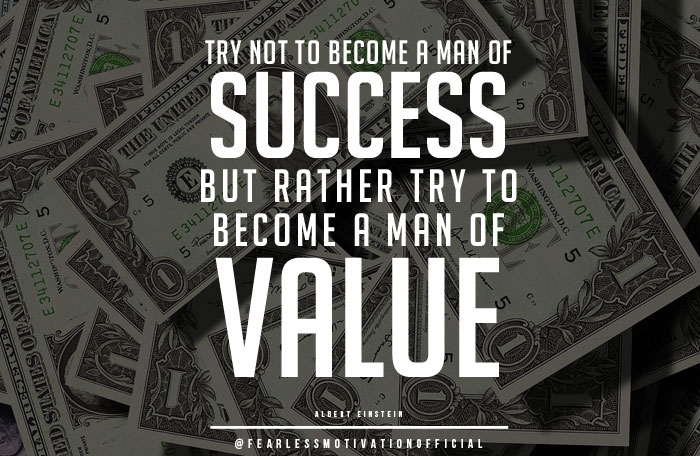 success in life comes from money do you agree