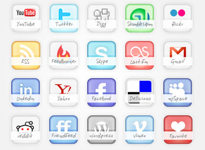 Glossy Icon Set by webtoolkit4.me