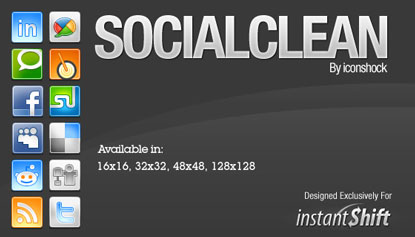 Social Clean by Icon Shock