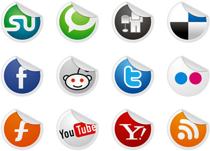 Socialize Icon Set by Dry Icons
