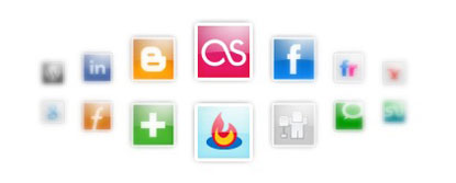 Social Media Icon Set by webtoolkit4.me