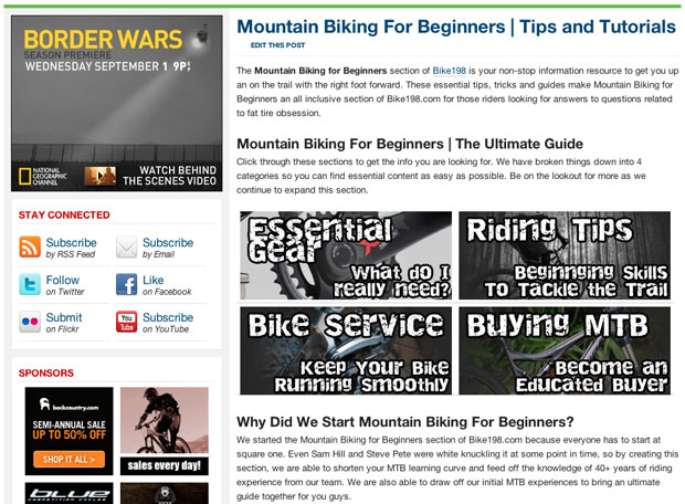 Beginner Section New Bike198.com