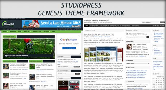 Studiopress Genesis - Bike198
