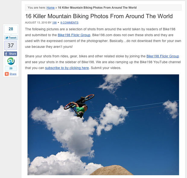 Flickr Photo Sharing Article