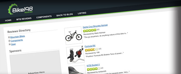 Rider Reviews at Bike198