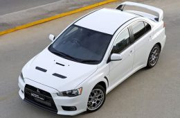 Wicked White Mitsubishi Evolution X