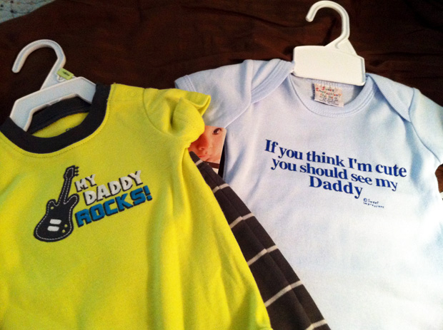 Baby Clothes for Daddy