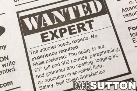 Wanted: Internet Expert | Robb Sutton