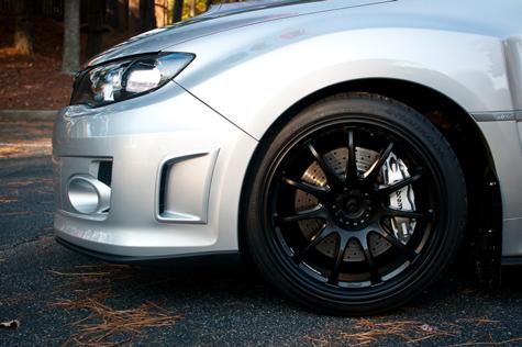 Silver Brembo Brakes