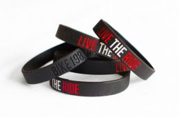 Bike198 Live the Ride Wristbands