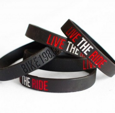 Physical Product Sales on Blog Case Study: Live the Ride Wristbands