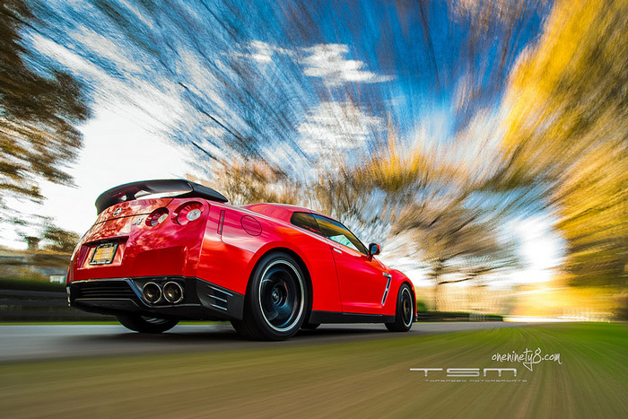 Red GT-R Rig Shot