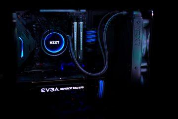 intel 8700k computer build