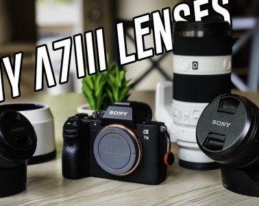 Sony Camera Lenses - A7iii