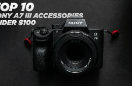 Sony A7 III Mirrorless Full Frame Camera