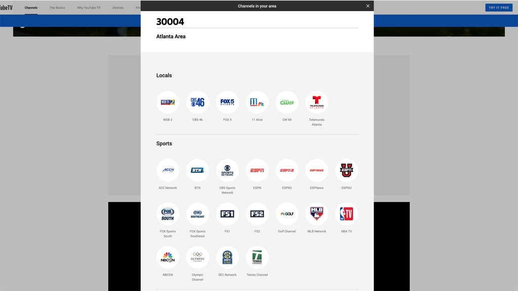 YouTube TV Review - Local Channels